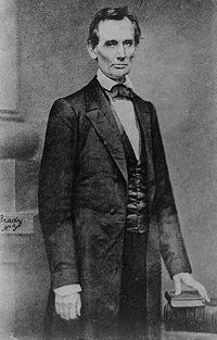 Abraham Lincoln: Before Delivering His Cooper Union Address