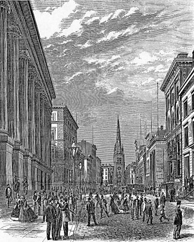 Wall Street, 1866