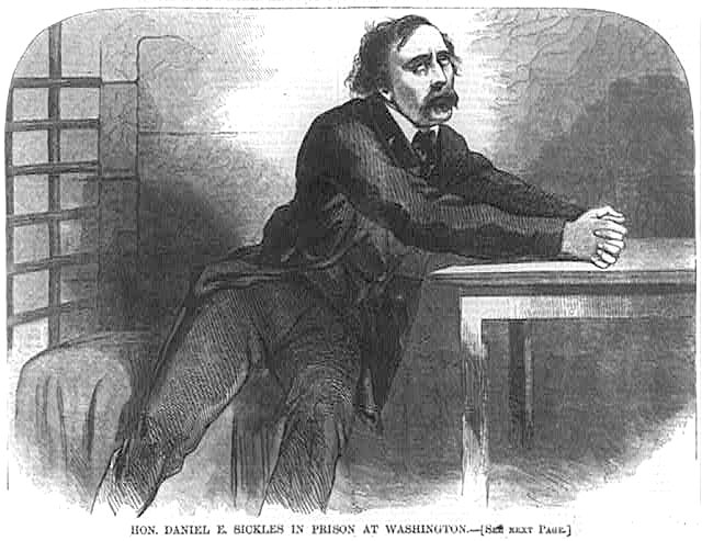 Daniel E. Sickles in Prison at Washington D.C.