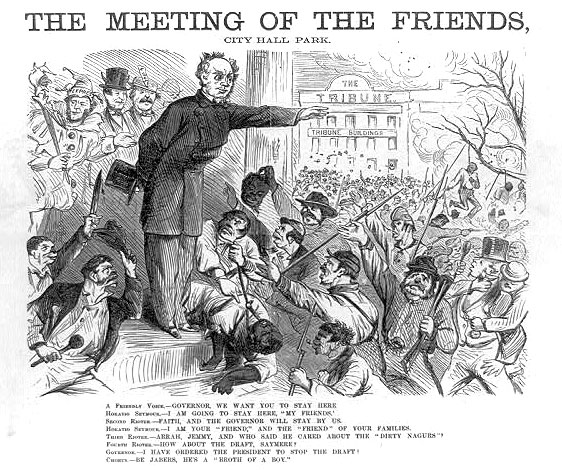 The Meeting of the Friends, City Hall Park