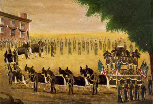 Lincoln's Funeral Train, April 26, 1865
