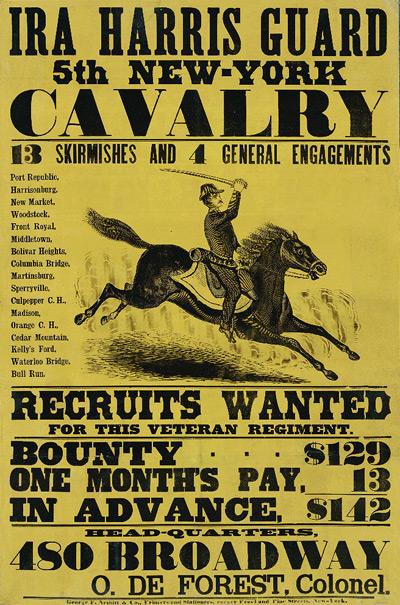 Ira Harris Guard, 5th New York Calvary.