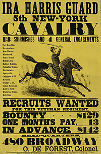 Ira Harris Guard, 5th New York Calvary.