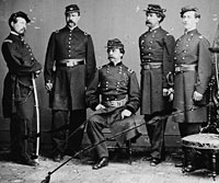 Gen. Daniel Sickles and Staff