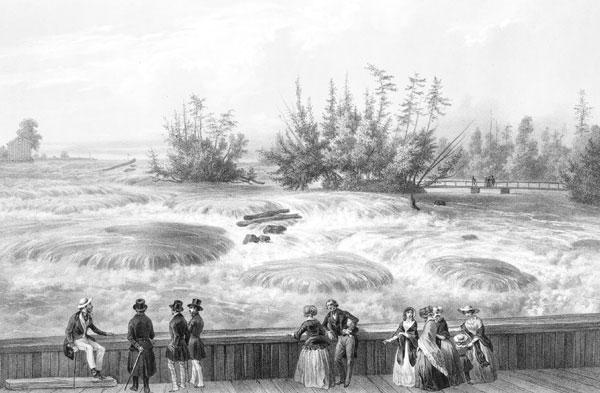The rapids of Niagara