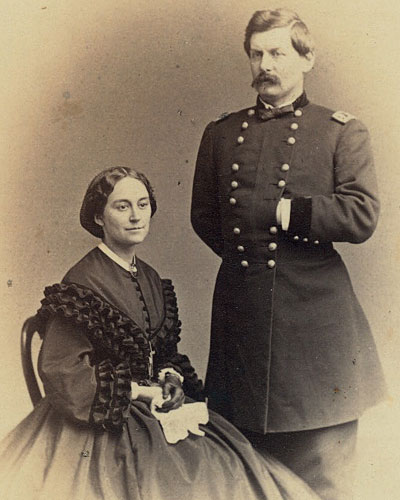 George B. McClellan and his wife, Ellen Mary Marcy