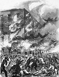 Burning of the 2nd Avenue Armory
