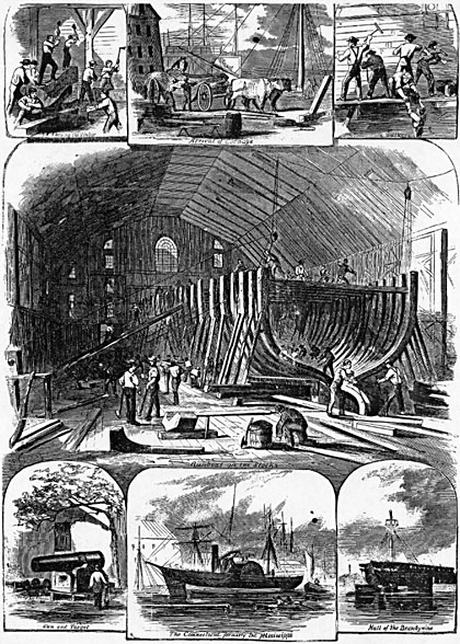 Brooklyn Navy Yard, 1861