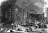 Brooklyn Navy Yard, 1861