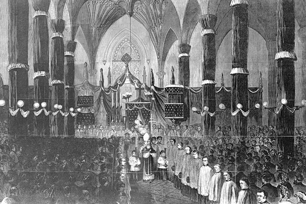 Archbishop Hughes' Funeral