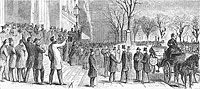 Lincoln's Arrival at Astor House