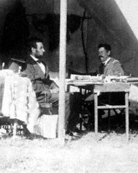 Abraham Lincoln and General George B. McClellan