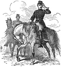 General George McClellan on the Field