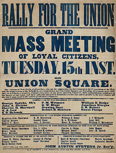 Rally for the Union.