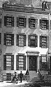 Residence of Henry Raymond, 12 West Ninth Street