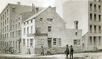 Old Reynold's Beer House, Corner of Thames and Temple Streets