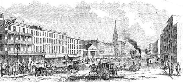 View in Salina Street, Syracuse NY