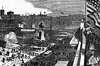 Sumter Meeting in Union Square, April 11, 1863