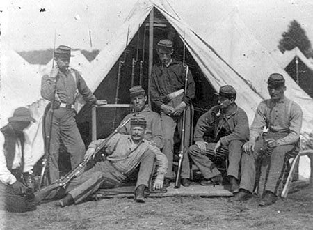 7th New York State Militia, Camp Cameron, D.C. 1861