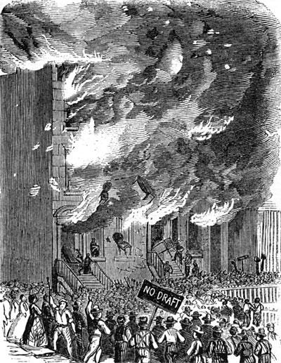 Riots on Lexington Avenue