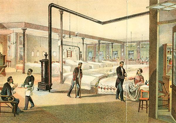 Soldier's Depot, Hospital (4th Floor)